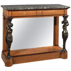 Restoration Period Console Table Made for King Louis-Philippe, circa 1830