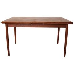 Extendable Dining Table Modell 28 by Niels O. Møller for J.L. Møllers, 1960