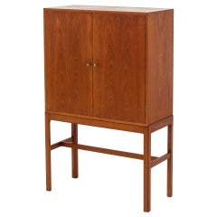 Wine and Tobacco Cabinet by Tove & Edvard Kindt Larsen