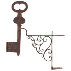 19th Century French Locksmiths Trade Sign