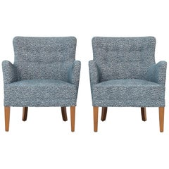 Pair of Easy Chairs by Frits Henningsen
