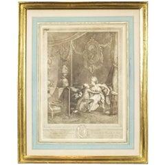 18th Century Engraving by Nicolaus de Launay