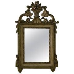 Small 19th Century French Louis XVI Style Mirror