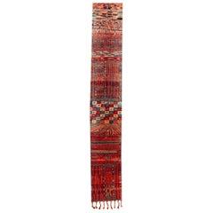 Vintage Moroccan Runner Rug
