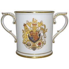 Royal Worcester Ltd Edition The Royal Marriage Loving Cup,  1981