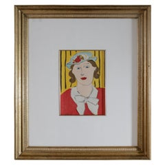 Woman with Hat Lithograph by Henri Matisse