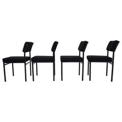 Set of 4 Cees Braakman for Pastoe SM07 Dining Chair, the Netherlands, 1960s