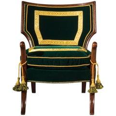Georgian Greek Revival Klismos Chair