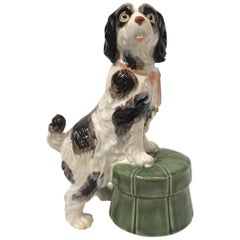 Ceramic Staffordshire Dog Figurine