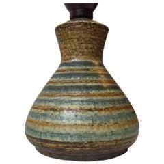 Danish Modern Stoneware Table Lamp by Johannes Andersen, 1960s