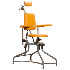 1930s, Steel Medical or Dentist Chair