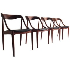 Johannes Andersen Teak Dining Chairs for Moreddi