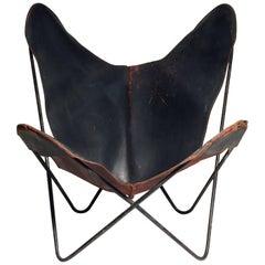 Early Knoll Butterfly Chair by Jorge Ferrari-Hardoy Juan Kurchann Antonio Bonet
