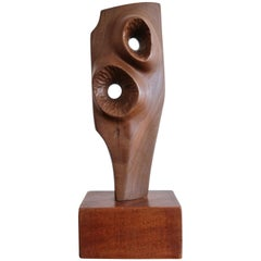 Abstract Wood Sculpture, 1960s