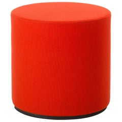 Vitra Panton Visiona Stool in Dark Orange by Verner Panton