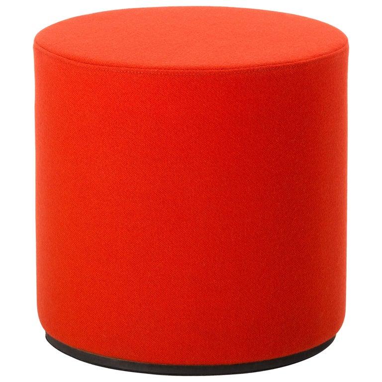 Vitra Panton Visiona Stool in Dark Orange by Verner Panton