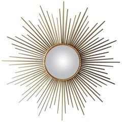 Chaty Vallauris Convex Sunburst Mirror