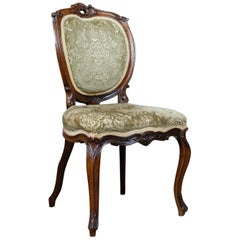 Antique Set of Four Dining Chairs, Victorian Rosewood, Howard & Sons, circa 1880