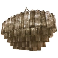 Art Deco Murano Glass Chandelier