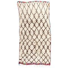 Vintage Moroccan Azilal Berber Rug