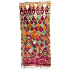 Vintage Moroccan Aït Bou Ichauen Rug