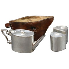 Leather Container for Teapot, 1920s