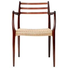 Niels Moller Model Rosewood Model 62 Chair
