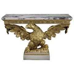 George II Giltwood Console Table