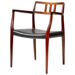 Niels Moller Model Rosewood Model 64 Chair