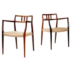 Niels Moller Model Rosewood Model 64 Chairs