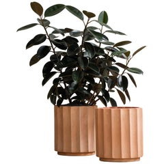 Column Planter Large by Billy Cotton in Terracotta