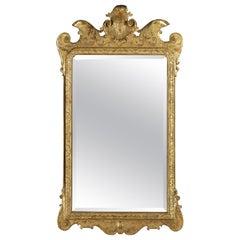 George I Giltwood Gesso Mirror