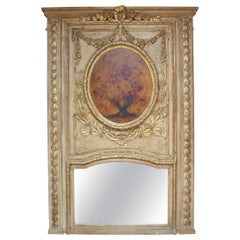 French 19th Century Trumeau Mirror