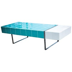 """POOL"" Modernist Style Center Table"