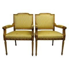 Pair of 20th Century Italian Armchairs