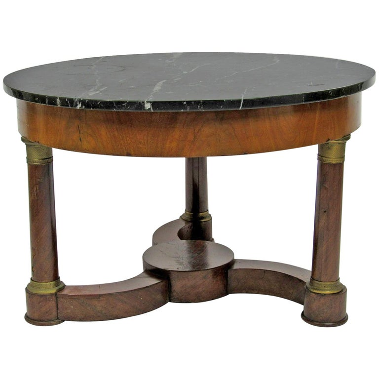Mid-20th Century French Empire Style Cocktail Table