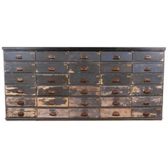 French Bank of Drawers