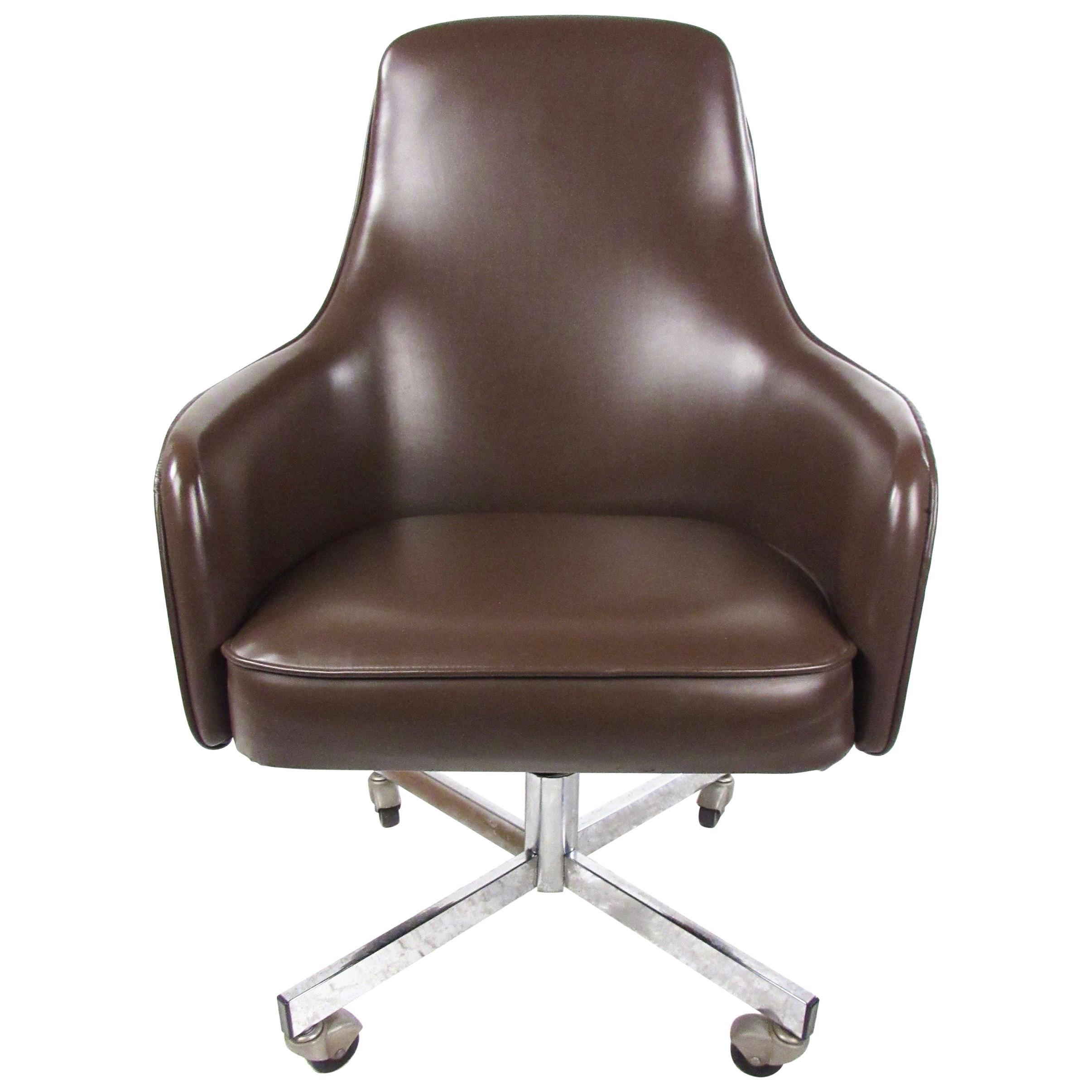 Vintage Swivel Desk Chair By Jansko For Sale