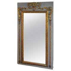 18th Century French Louis XVI Period Trumeau Mirror