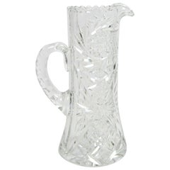 Early 20th Century Glass Pitcher
