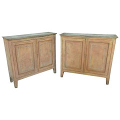 Pair of 19th Century Catalan Buffet