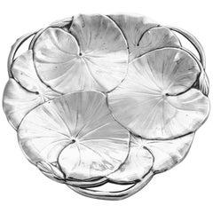 Floral Art Nouveau Dish