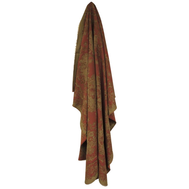 Mulberry Woven Dusty Rose Floral Throw