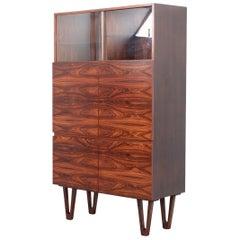 Rosewood Trol Cabinet by Ib Kofod-Larsen for Seffle Möbelfabrik, Sweden, 1950s