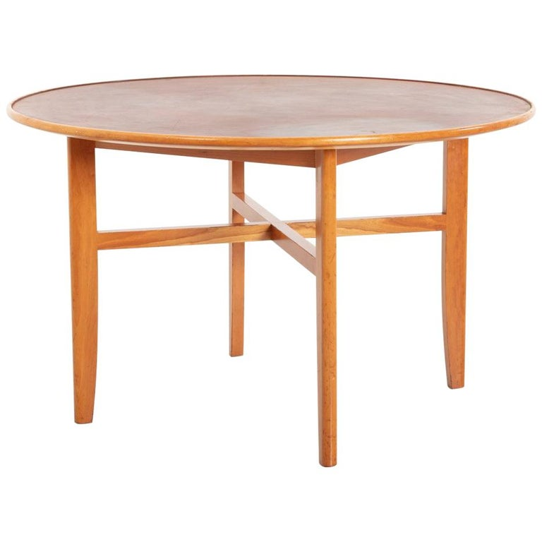 Dining Table by David Rosén for Nordiska Kompaniet, Sweden, 1950s For Sale