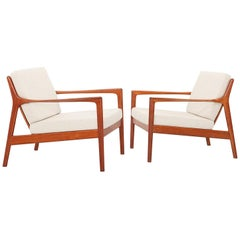 USA-75 Easy Chairs by Folke Ohlsson for DUX, Sweden 1950s
