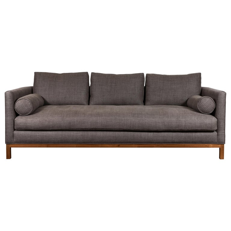 Curved Back Sofa by Lawson-Fenning For Sale