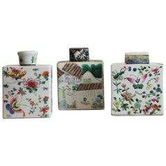 3 Asian Tea Caddy