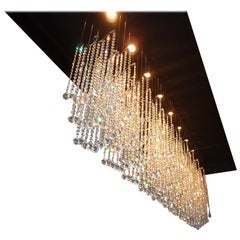 Floating Crystal Chandelier with Swarovski Crystal and Led