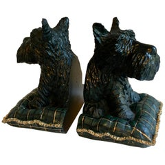 Pair of Scottie Dog Bookends
